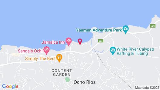 Shaw Park Beach Hotel & Spa Map