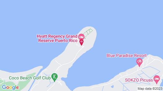 Hyatt Regency Grand Reserve Puerto Rico Map