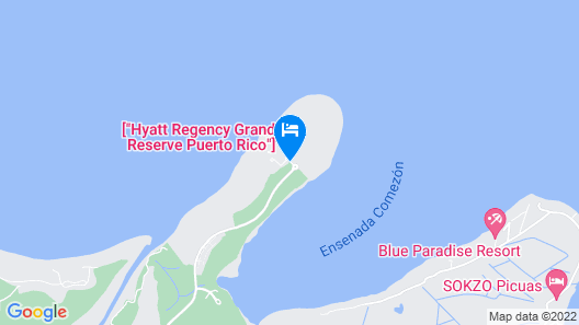 Hyatt Regency Grand Reserve Puerto Rico Map