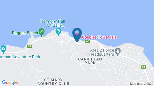 Couples Tower Isle All Inclusive Map