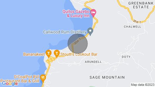 Atemberaubende Villa in Einer Begehrenswerten Lage auf Tortola Map