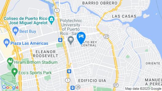 Beautiful Alondra San Juan Apartments Map