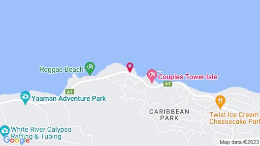 Chrisanns Beach Resort Map