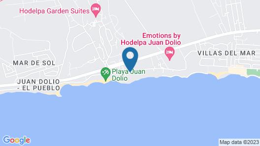 Coral Costa Caribe Resort & Spa - Free Wifi - All Inclusive Map