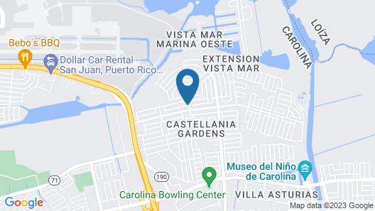 Segovia Studio Units Map