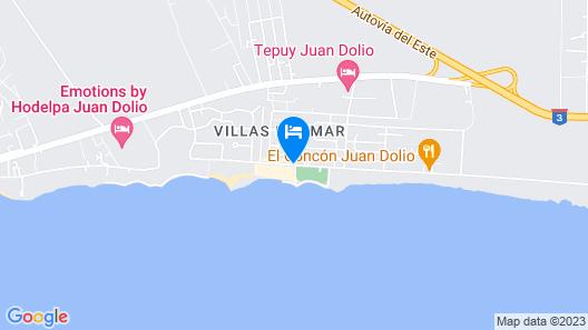 Plaza Real Resort Map