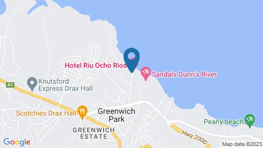 RIU Ocho Rios All Inclusive Map