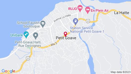 Digue Hotel Bar Resto Map