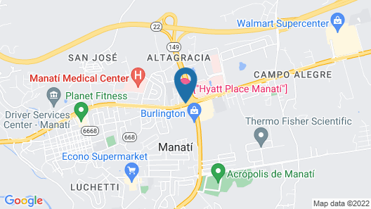Hyatt Place Manati Map