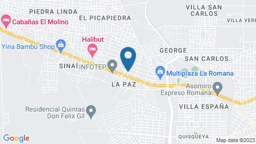 Hotel Silvestre Map
