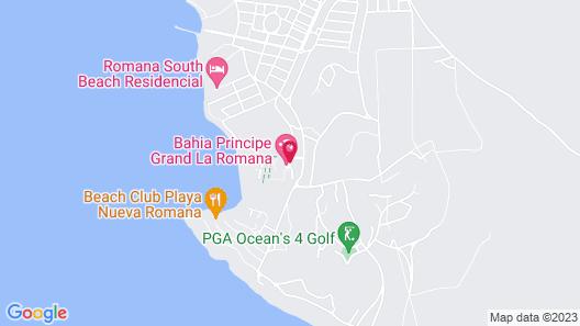 Bahia Principe Grand La Romana - All Inclusive Map