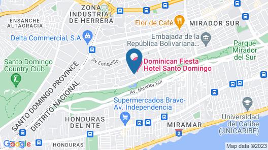 Dominican Fiesta Hotel & Casino Map