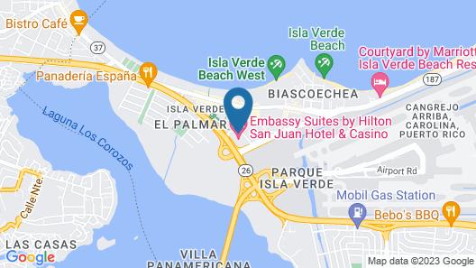 Embassy Suites by Hilton San Juan Hotel & Casino Map
