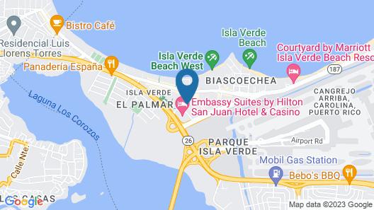 Verdanza Hotel San Juan Map