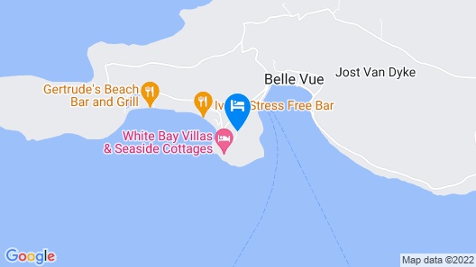 Ocean View Villa Map