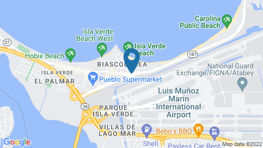 The Ritz-Carlton, San Juan Map