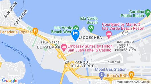 CARIBBEAN PRESIDENTIAL SUITE OCEAN VIEW Map