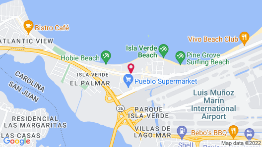 Royal Sonesta San Juan Map