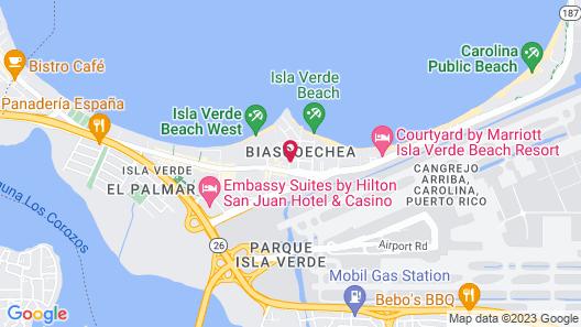 Hotel Villa del Sol Map