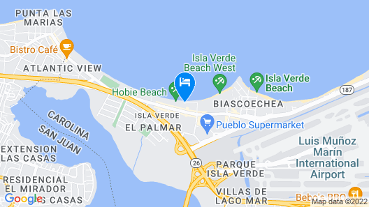 San Juan Water and Beach Club Map