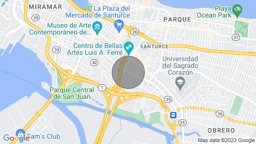 The Rooms at Santurce Map