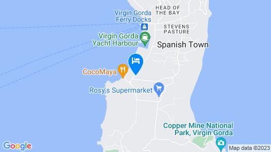 Fischer's Cove Beach Hotel & Restaurant Map