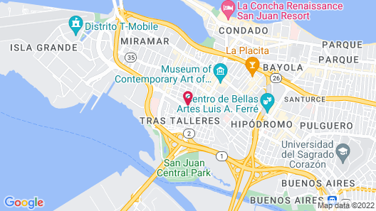 Guava House Map