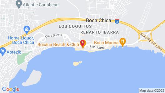 Boca Beach Residence Hotel Map