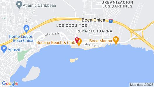 Hotel Zapata Map