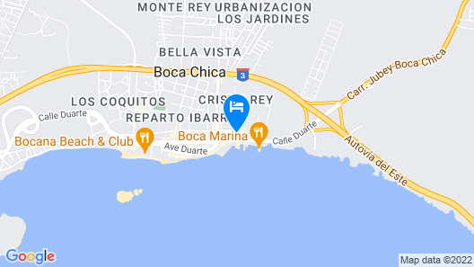 Be Live Experience Hamaca Suites Map
