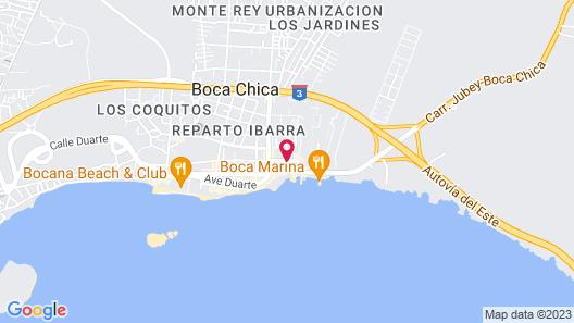 Be Live Experience Hamaca Beach Map