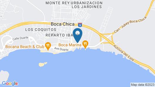 Hotel Vicentina Map