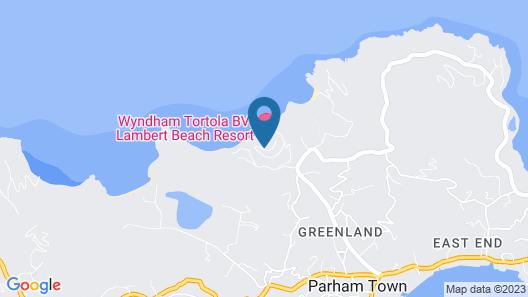 Wyndham Tortola BVI Lambert Beach Resort Map
