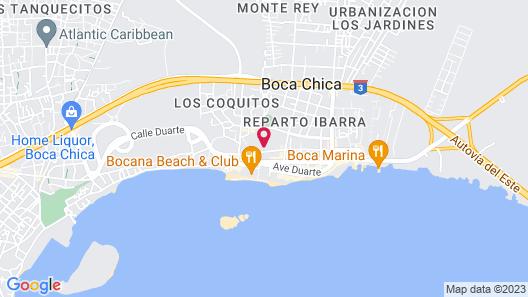 BelleVue Dominican Bay - All Inclusive Map