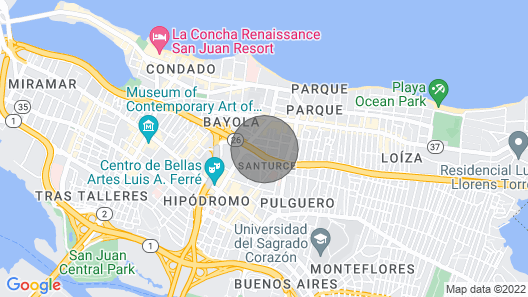 FULLY REMODELED IN CONDADO Map