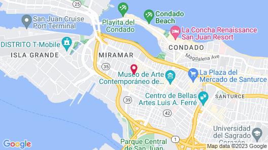 Hostel H1 Miramar Map