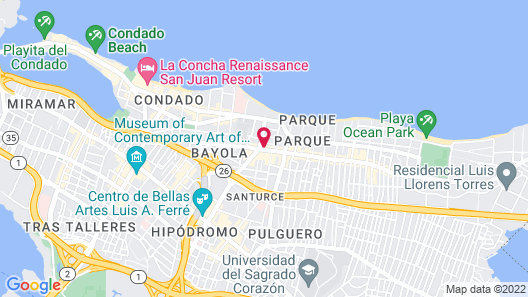 La Mona Loiza Map