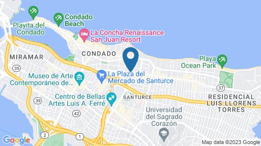 Hotel Iberia Map