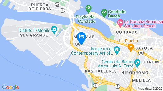 CIQALA Luxury Suites Map