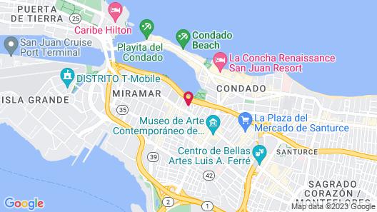 Casa Santurce Map