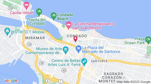Casa Sevilla Map