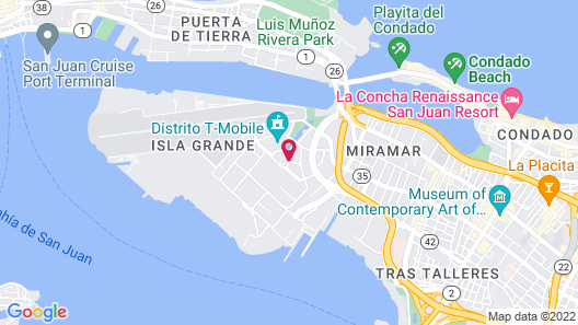 Sheraton Puerto Rico Hotel & Casino Map