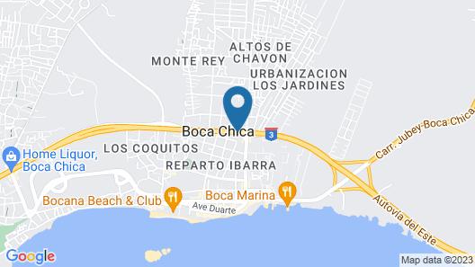 Hotel Villa Capri Salon & SPA Map