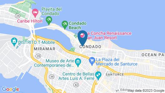 Coral Princess Hotel Map