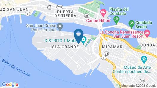 Aloft San Juan Map