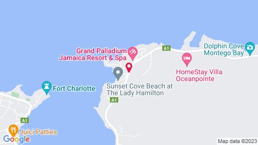 Grand Palladium Lady Hamilton Resort & Spa All Inclusive Map