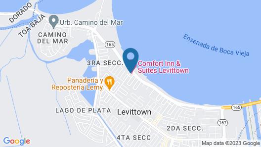 Comfort Inn & Suites Levittown Map
