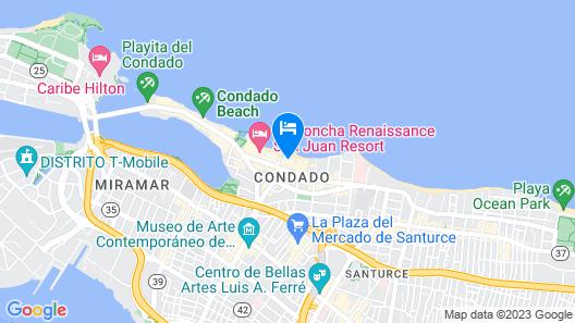 Sandy Beach Hotel Map