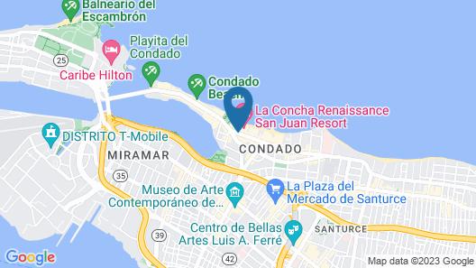 La Concha Renaissance San Juan Resort Map