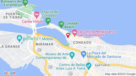 Comfort Inn San Juan Map